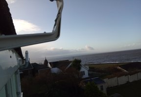 Gutter repair Ogmore by Sea