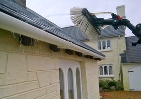 Fascia Cleaning Cardiff
